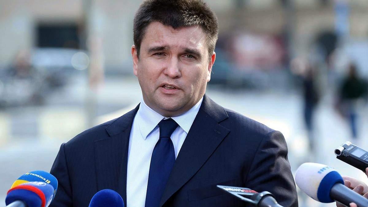 Року мало, щоб перезавантажити окупований Донбас, – Клімкін про анонсовані Пристайком вибори
