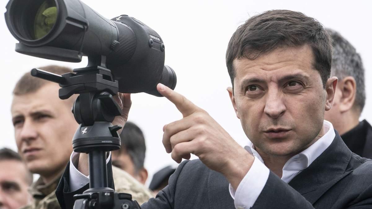 Зеленський розглядає два сценарії для виборів на окупованому Донбасі