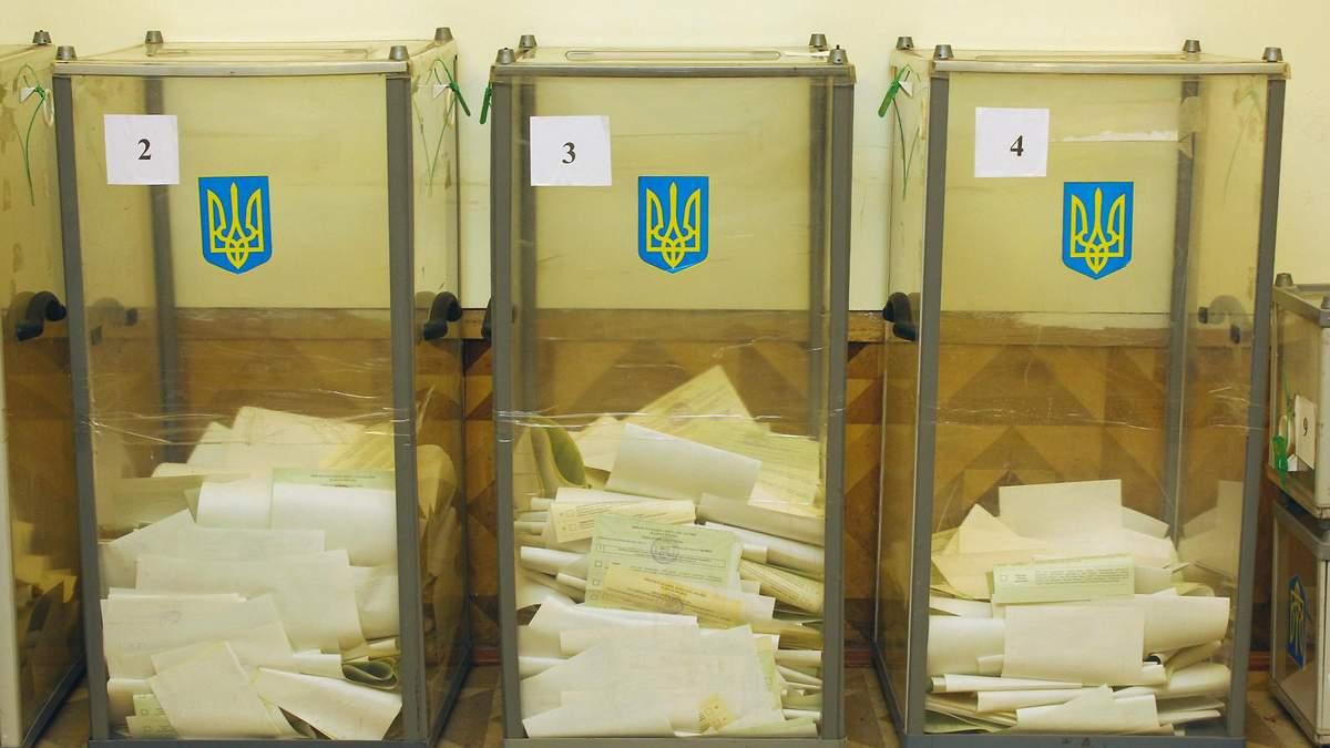 """Результаты выборов в ОТГ: каждый третий мандат – """"Слуги народа"""""""