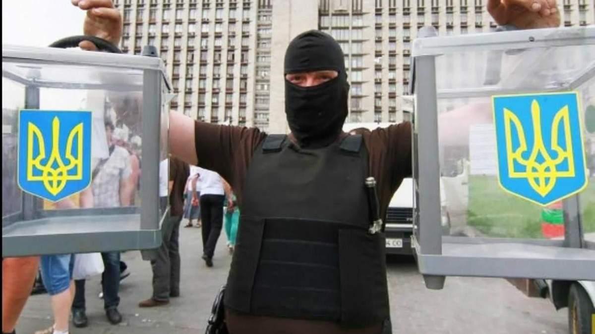 Незаконні формування не зможуть взяти участь у виборах на Донбасі, – Пристайко