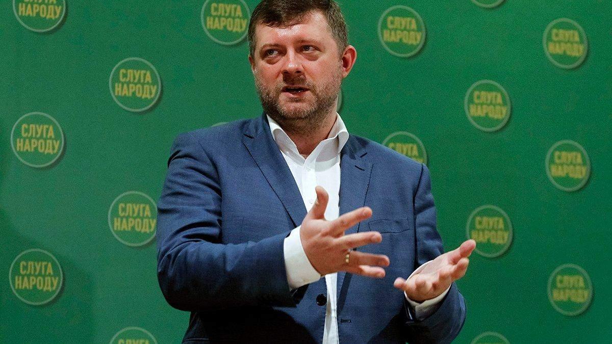 """Корнієнко розкрив частину планів """"Слуги народу"""" на місцеві вибори"""