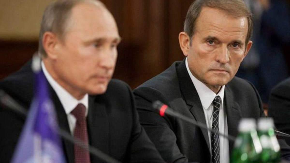 Крымская пахлава и загар: почему же Медведчук поехал на оккупированный полуостров?