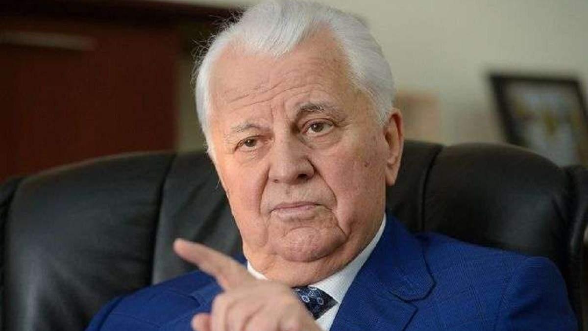 """На Донбассе много """"заробитчан с оружием"""", поэтому выборы там невозможны, – Кравчук"""