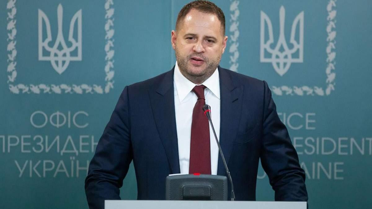 Ермак уверяет, что Украина не обещала вносить изменения в постановление о местных выборах