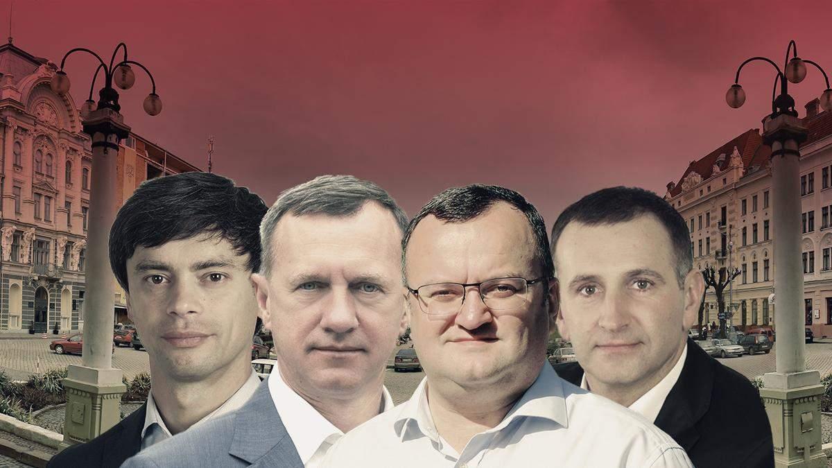 Вибори мера 2020 Ужгорода та Чернівців – рейтинг кандидатів в мери та партій