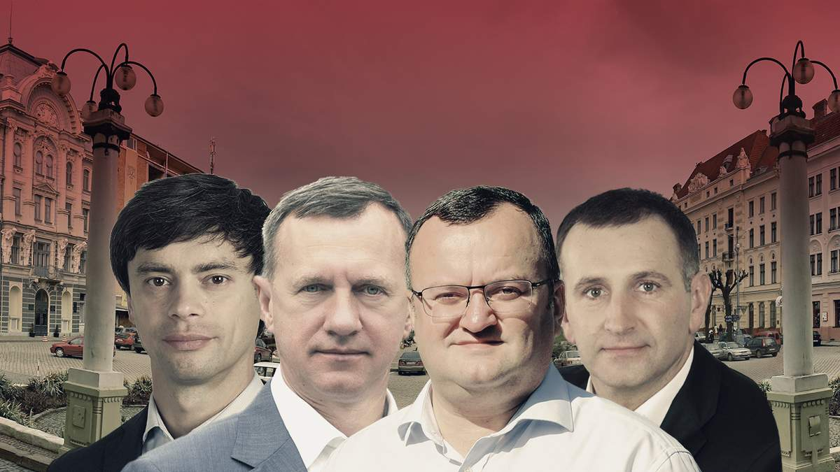 Выборы мэра 2020 Ужгорода и Черновцов – рейтинг кандидатов в мэры и партий