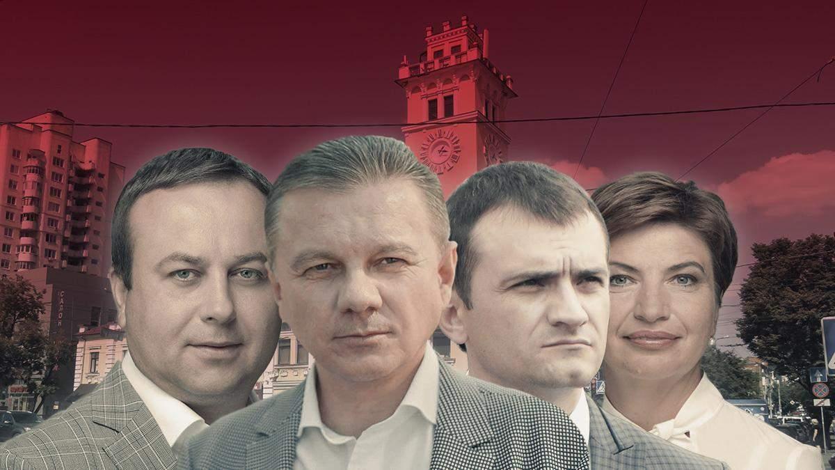 Хмельницкий и Винница: рейтинги партий и кандидатов в мэры