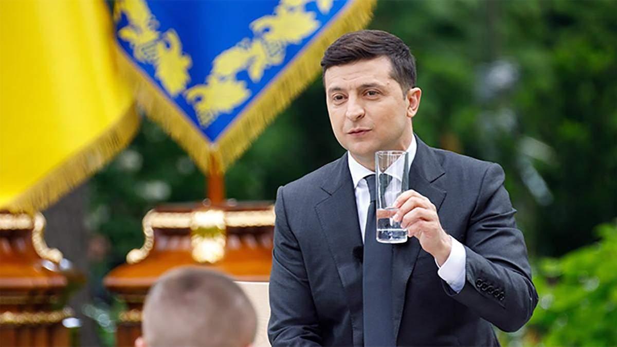 Що хочуть запитати українці у Зеленського