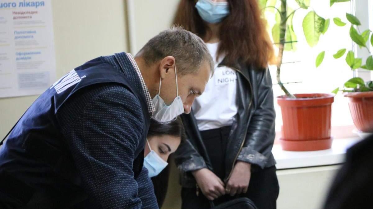 Через піар політиків: у Миколаєві поліція обшукала інфекційну лікарню