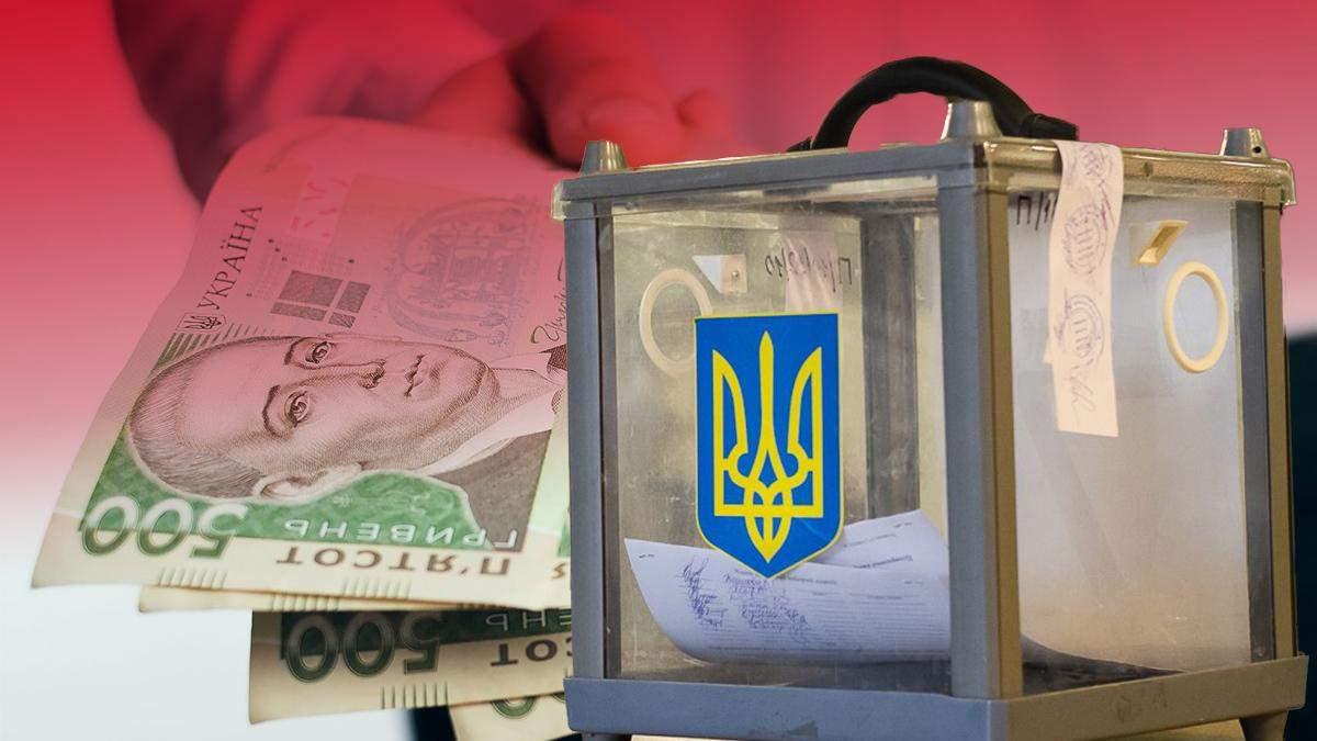 Денежный залог в Киеве, Харькове и Днепре: где кандидаты взяли деньги