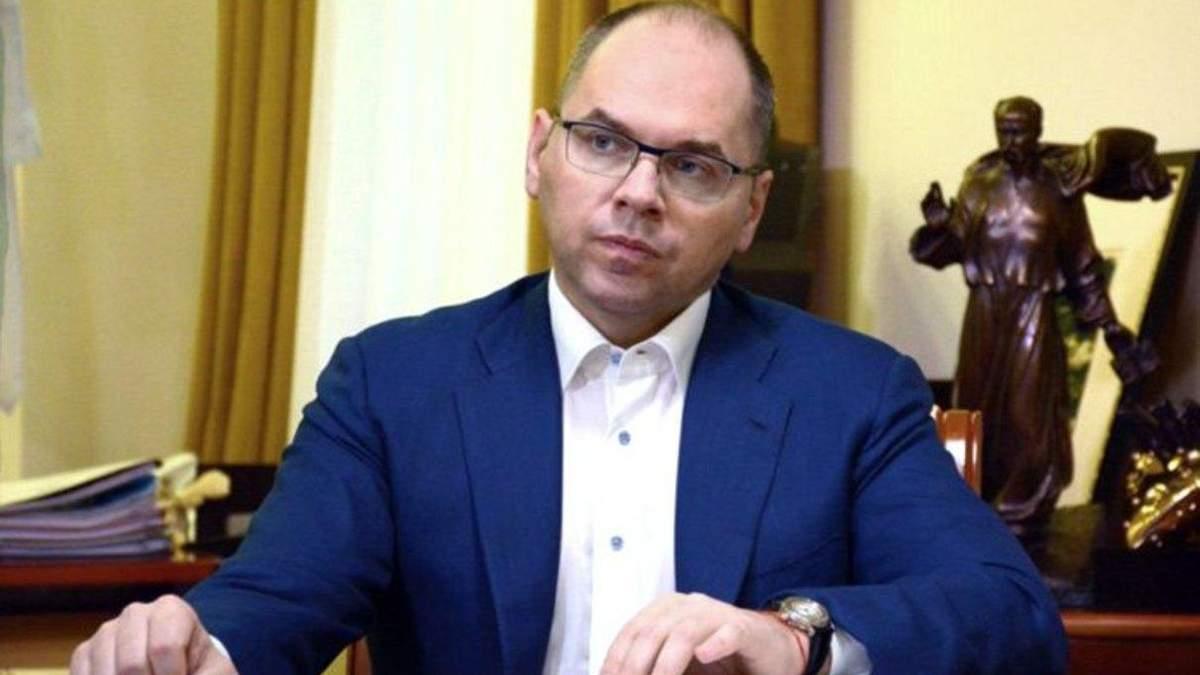 Міністр охорони здоров'я Максим Степанов пройшов до Одеської облради
