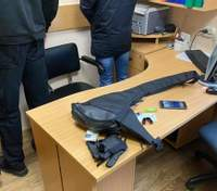 Люди в черном пытались заблокировать работу избирательной комиссии на Киевщине