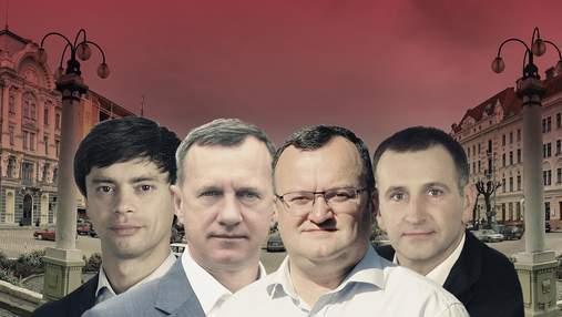 Ужгород і Чернівці: рейтинги партій і кандидатів у мери