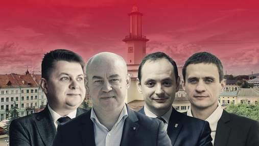 Ивано-Франковск и Тернополь: рейтинги партий и кандидатов в мэры