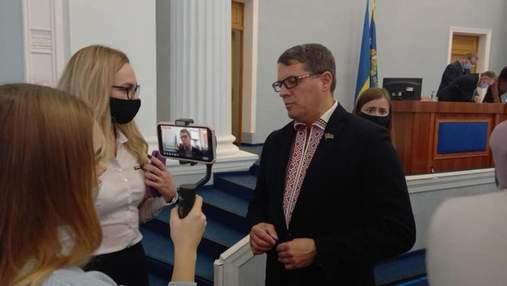 Экс-пленник Кремля Роман Сущенко занял пост в руководстве Черкасского облсовета