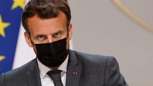 Партия Макрона провалилась на выборах во Франции