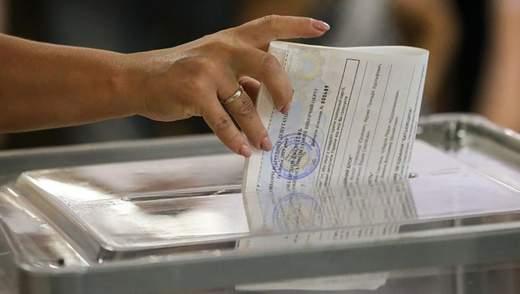 ЦВК опублікувала перші результати місцевих виборів в Україні